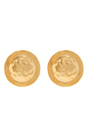 Женские золотые серьги LOEWE