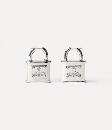 Vivienne Westwood Earrings | Women's Jewellery | Vivienne Westwood - Luna Large Earrings