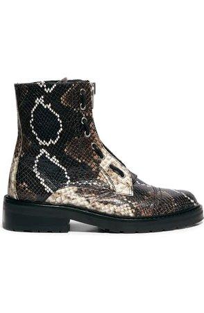 ALLSAINTS Ariel Top Zip Boot (Women)   Nordstrom
