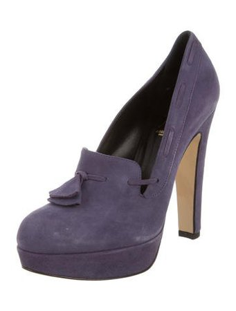 Abel Muñoz Suede Roxin Pumps - Shoes - W7A20297 | The RealReal