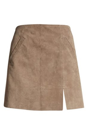 BLANKNYC Suede Miniskirt | Nordstrom