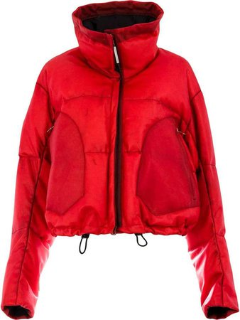 Experience Appartition Rouge puffer jacket