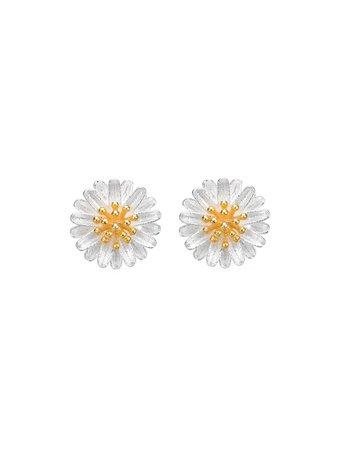 Daisy Design Stud Earrings