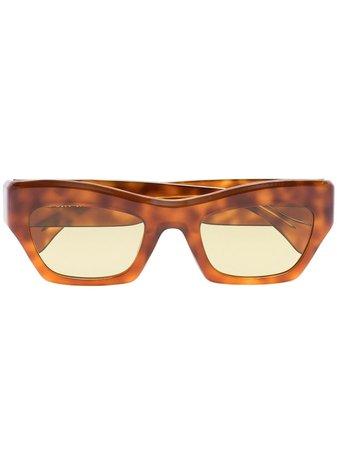 Port Tanger Ayreen rectangle-frame sunglasses - FARFETCH