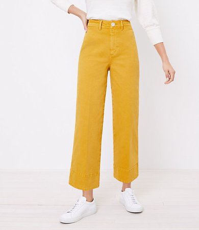 The Petite High Waist Wide Leg Jean