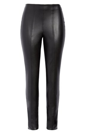 BLANKNYC High Waist Faux Leather Leggings | Nordstrom