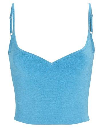 A.L.C. Shana Knit Crop Top | INTERMIX®