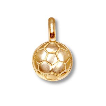 Alex Woo Mini Soccer Ball Charm 14K Yellow Gold | -all | Jared