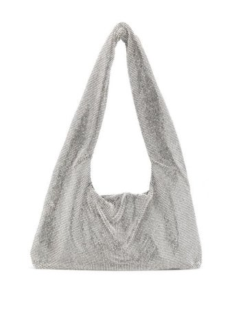 Kara crystal mesh tote bag metallic & silver HB2761305 - Farfetch