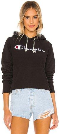 Big Script Hooded Sweatshirt