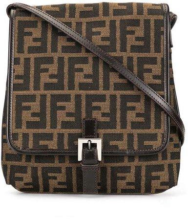 Pre-Owned Zucca pattern shoulder bag
