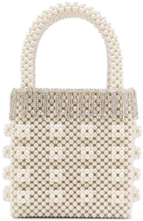 diamante pearl bag