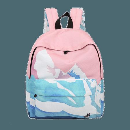ALASKA BACKPACK, SNOWBERG SCHOOL BAG BACKPACK on Storenvy