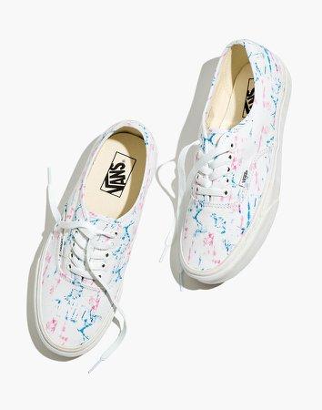 x Vans Unisex Authentic Lace-Up Sneakers in Tie-Dye Canvas