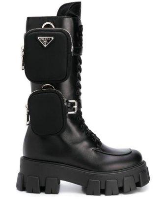 Black Prada Monolith boots 1W828LFA05507I - Farfetch