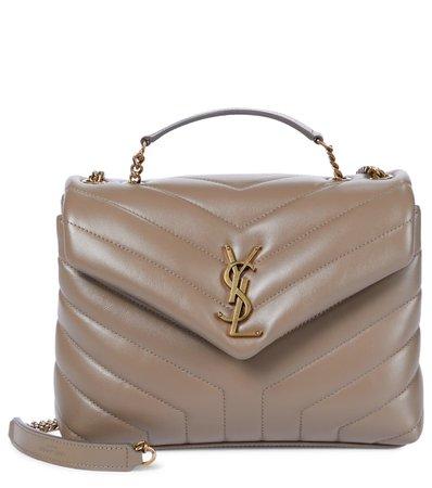 Saint Laurent - Loulou Small leather shoulder bag   Mytheresa