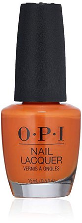 OPI Nail Lacquer Grease Collection, Orange