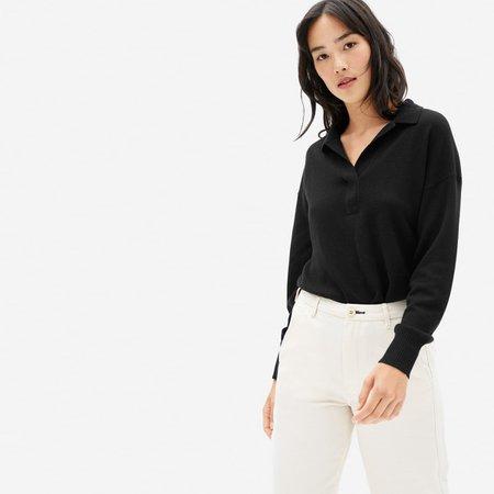 Women's Cashmere Polo   Everlane