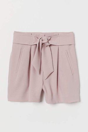 Fitted Shorts - Pink