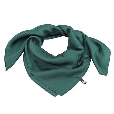 Amazon.com: LZIYAN Solid Color Square Scarf Soft Wrap Scarf Clothing Decorative Accessories Elegant Gift for Women,Dark Green: Office Products