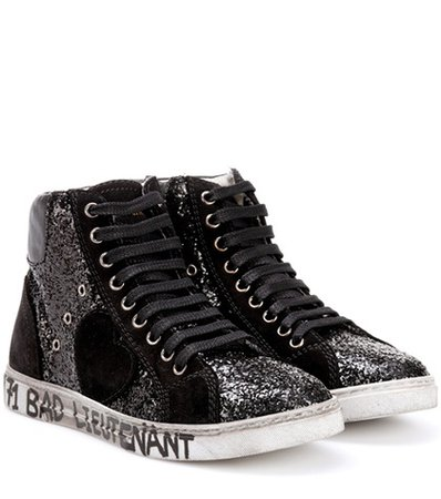 Antibe 05 glitter high-top sneakers