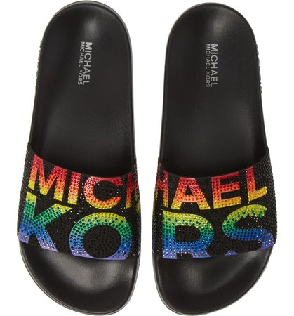 MICHAEL Michael Kors Gilmore Slide Sandal (Women) | Nordstrom