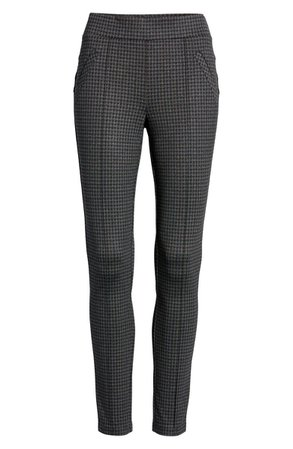 Wit & Wisdom Plaid Ankle Leggings (Regular & Petite) | Nordstrom