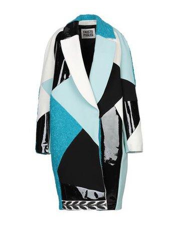 Fausto Puglisi Coat - Women Fausto Puglisi Coats online on YOOX United States - 41880595QB