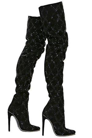 Balmain black boots
