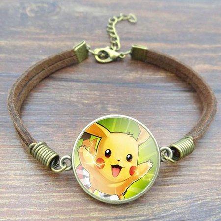 Pokémon Pikachu Charm Bracelet – Emerta