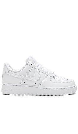 Nike Womens Air Force 1 '07 im White & White | REVOLVE