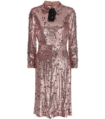 Sequin-embellished dress