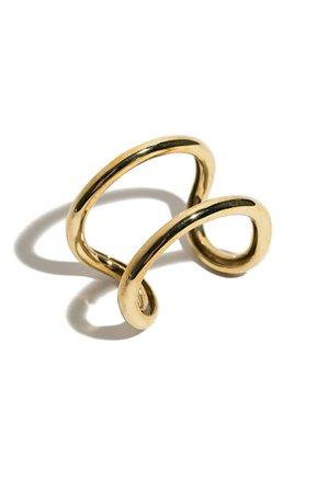 In God We Trust - Brass Infinity Cuff | BONA DRAG