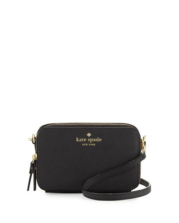 kate spade black crossbody purse
