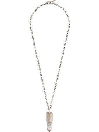 Parts Of Four Talisman Crystal Necklace - Farfetch