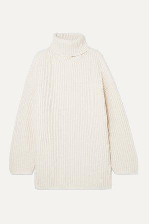 Acne Studios | Disa oversized wool turtleneck sweater | NET-A-PORTER.COM