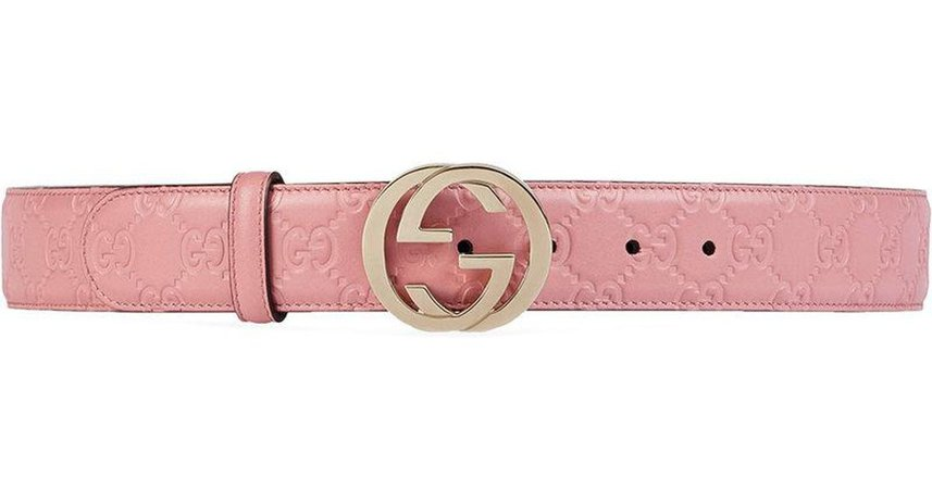 pink gucci belt