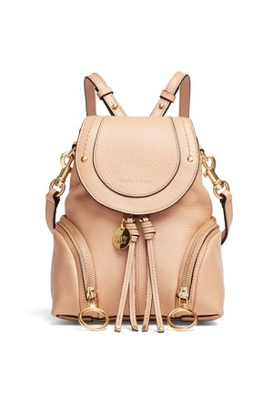 Nude Olga Backpack by See by Chloe Accessories for $65   Rent the Runway