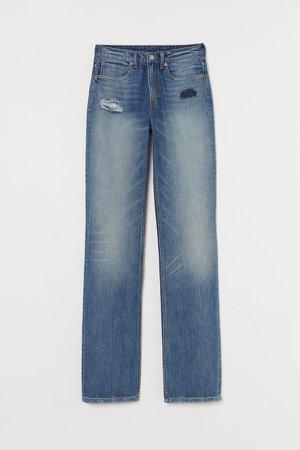 Straight Regular Jeans - Blue