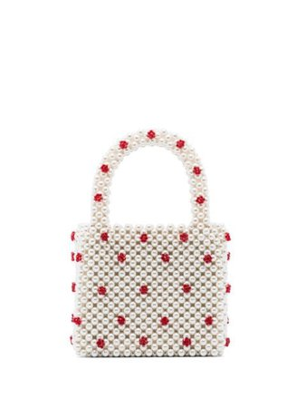 Shrimps Dolly Pearl Mini Tote Bag   Farfetch.com