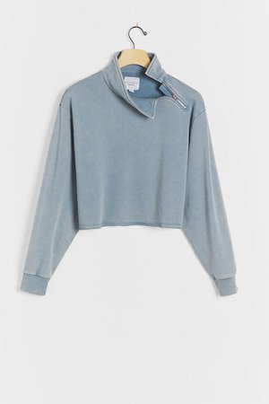 All Fenix Cozy Side-Zip Pullover | Anthropologie