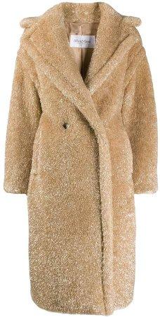 Oversize Shimmer Coat
