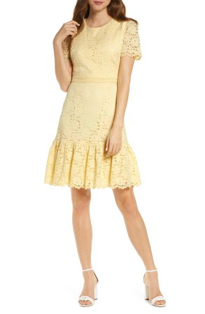 Rachel Parcell Lace Minidress (Nordstrom Exclusive) | Nordstrom