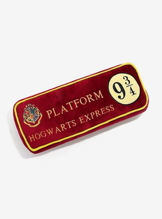 Harry Potter Platform 9 3/4 Pillow