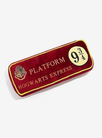 Harry Potter Platform 9 3/4 Pillow