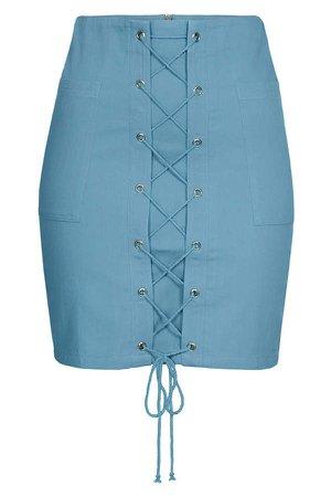 Imaima Yade Skirt In Blue