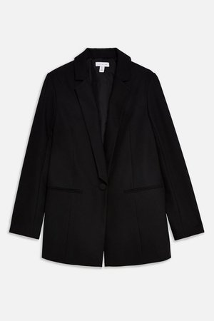 Black Single Breasted Blazer | Topshop