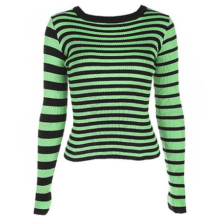 Striped Ribbed Sweater – Boogzel Apparel