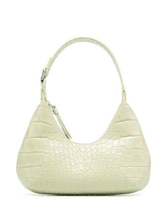 BY FAR Crocodile Effect Mini Bag - Farfetch