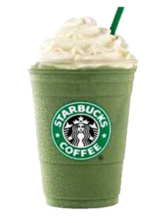 Green Starbucks Drink